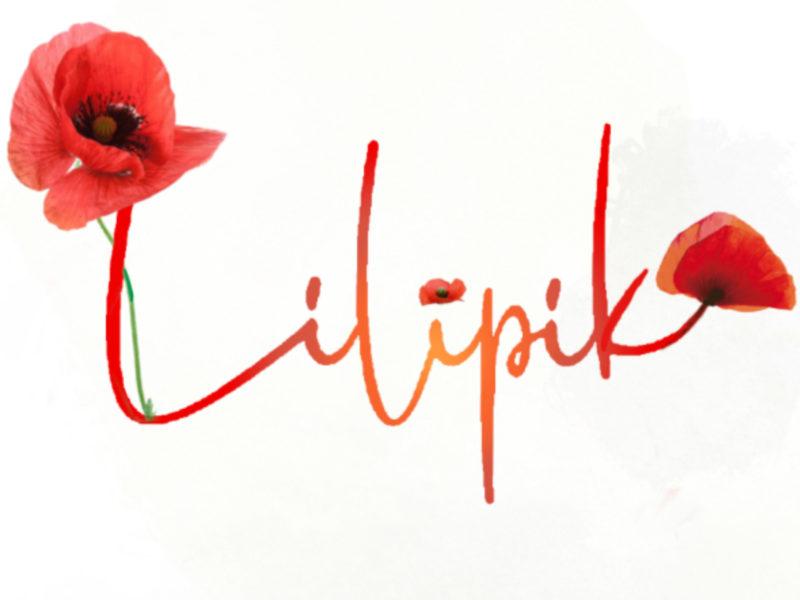 logo lilipik coquelicot prendre soin de vous création zéro déchet