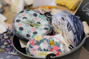 créations écoresponsables lingettes lavables artisanales Lilipik